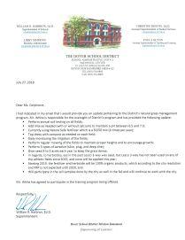 2018 letter